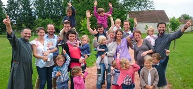 Retraite des familles avec les Frères de Saint-Jean