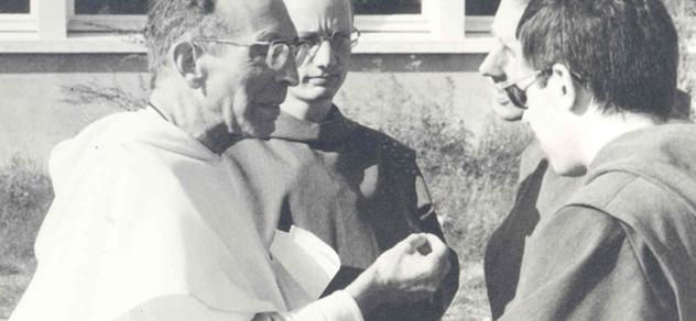 Communauté des Frères de Saint-Jean, père Marie-Do