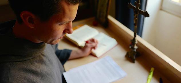 Frère de Saint-Jean à l'étude