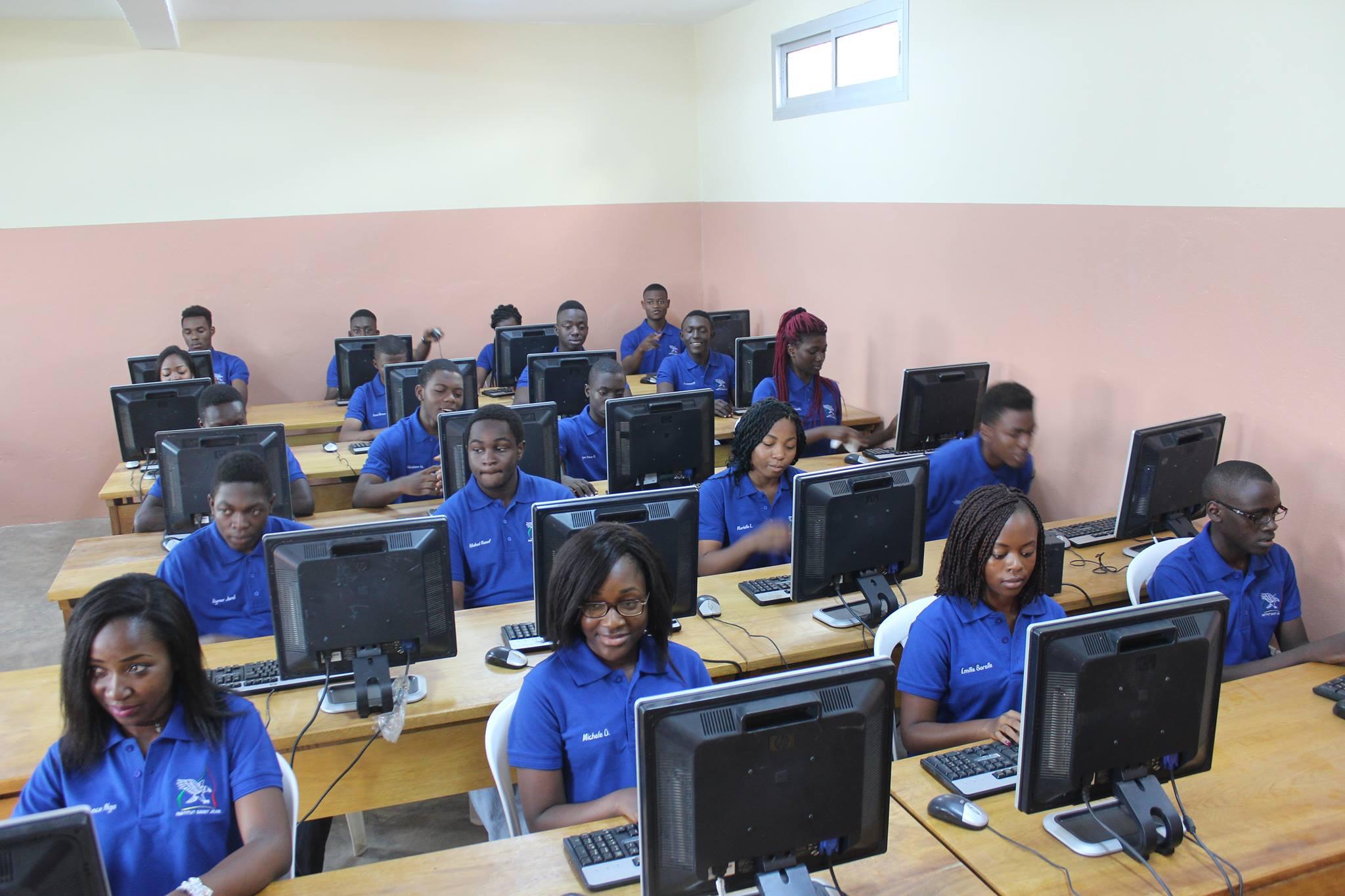 Prépa Vogt de l'Institut Saint-Jean à Yaoundé au Cameroun