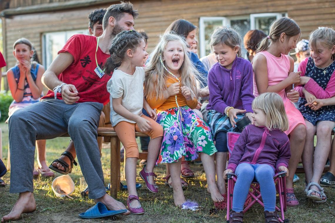 Lituanie festival familles avec les Frères de Saint-Jean