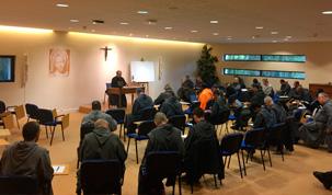 Session des prieurs des Frères de Saint-Jean