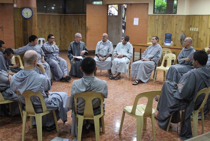 Rencontre vicariale des Frères de Saint-Jean à Cebu