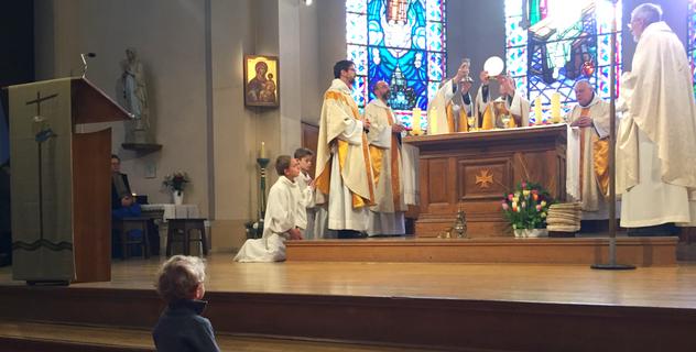 Les frères de saint-Jean en charge de la paroisse Sainte Cécile Boulogne-Billancourt