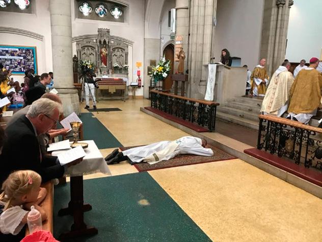 Frères de Saint-Jean : ordination sacerdotale Londres 2018