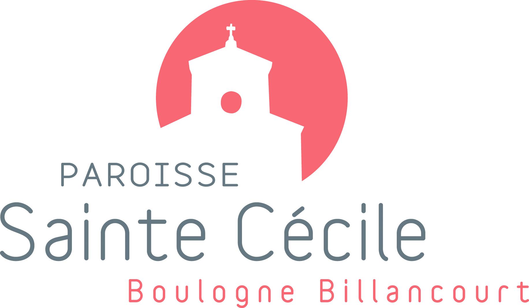 Logo Paroisse Sainte Cécile, Boulogne-Billancourt