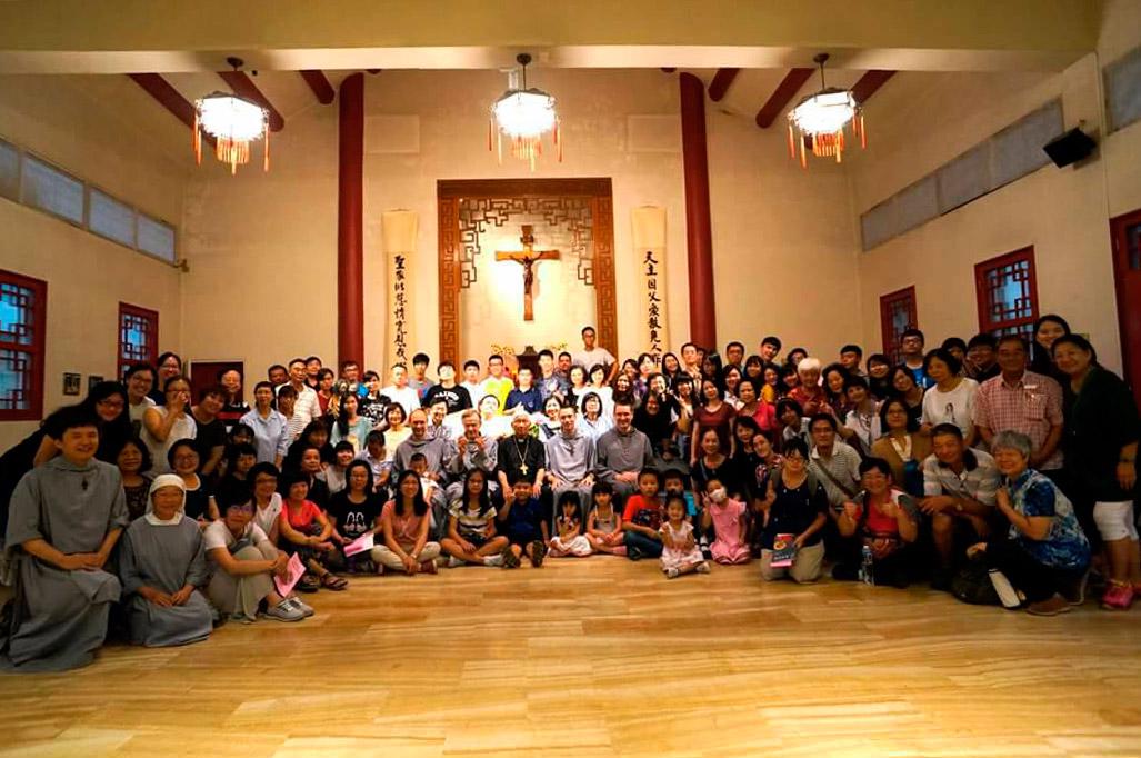 30 ans de présence des Frères de Saint-Jean à Taïwan