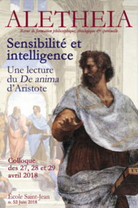 Aletheia N°52, Sensibilité et intelligence
