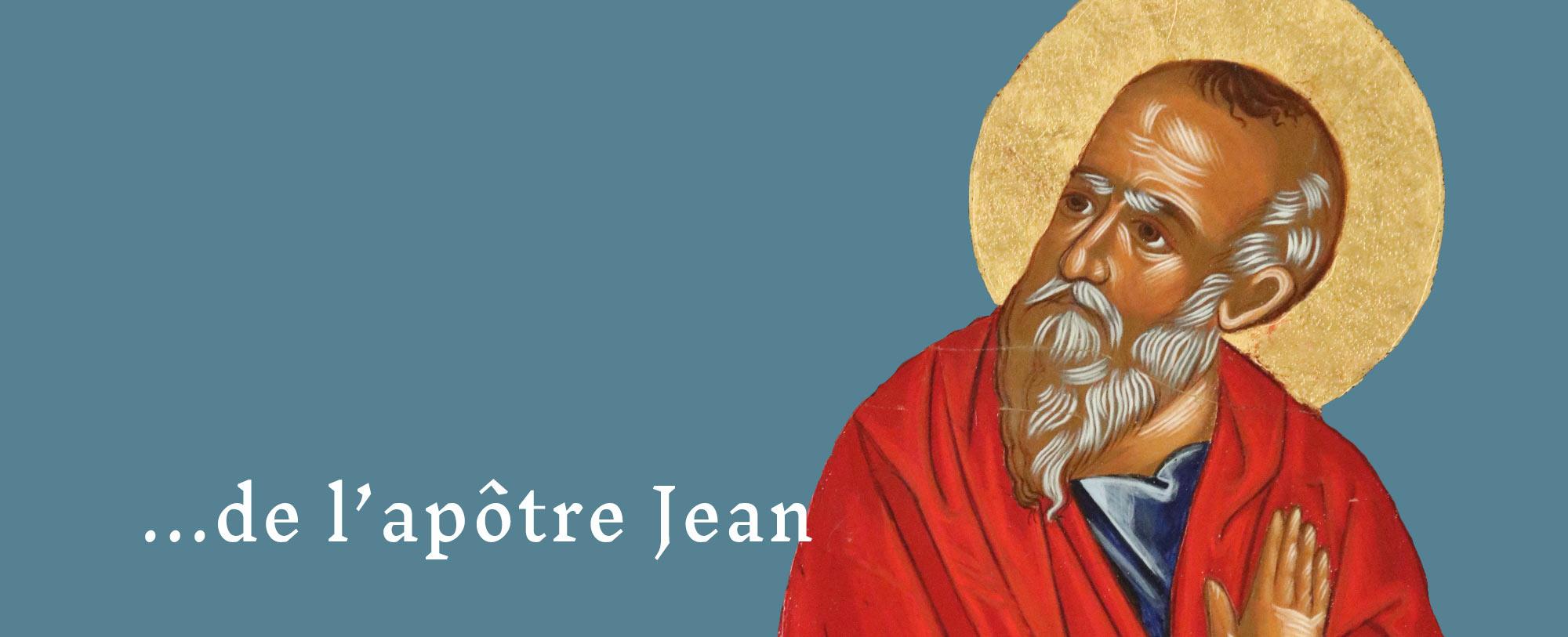 À la suite de l'apôtre Jean, vivre ensemble en amis du christ et témoigner de sa lumière et de son amour.
