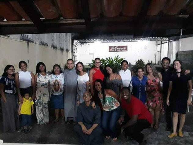 26e anniversaire de présence des Frères de saint-Jean au Brésil à Salvador de Bahia