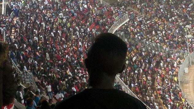 Frères de Saint-Jean au Cameroun, Christade 2018, stade omnisport de Yaoundé