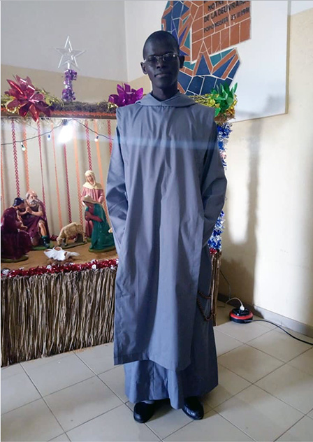 Frères de Saint-Jean : Oblature de frère Jean-Christophe au Sénégal