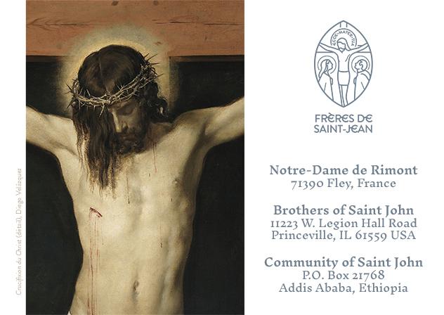Faire-part des ordinations 2019 des Frères de Saint-Jean