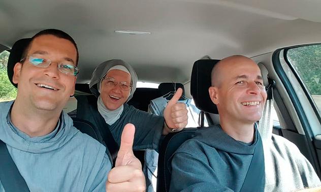 25 ans du prieuré des Frères de Saint-Jean à Marchegg