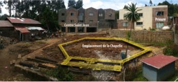 Le projet de chapelle à Addis-Abeba