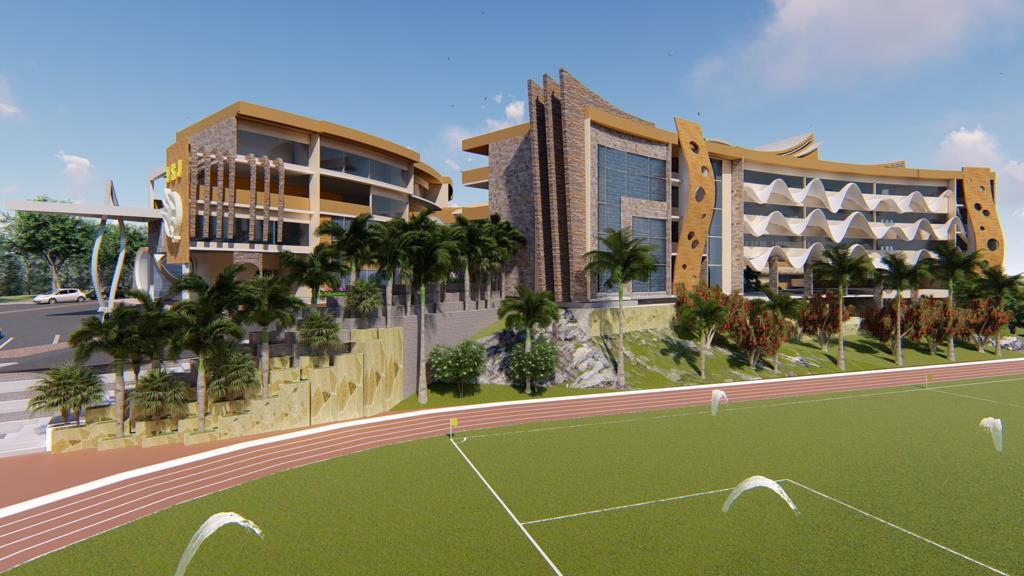 Futur campus de l'Institut Saint Jean au Cameroun