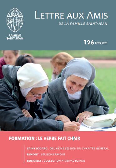 Publication de la Lettre Aux Amis de la Famille Saint-Jean 126