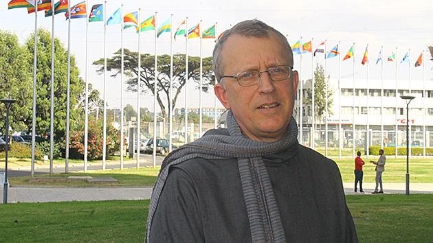 Frère François Frédéric présent aux festivités d'Addis Abeba