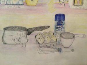 Illustrations livre The Little Bread