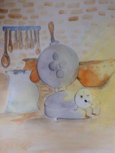 Illustrations du livre The Little Bread