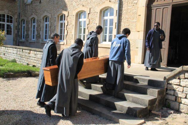 Les obsèques de frère Fulco