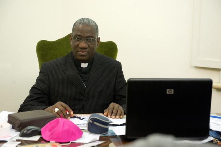Archevêque de Conakry, Mgr Coulibaly