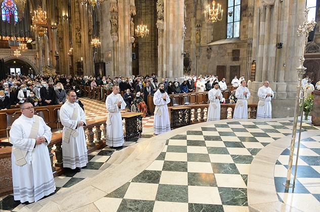 Ordination de frère Benedict-Charbel à Vienne